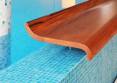 Schwimmbad mit Elbblick