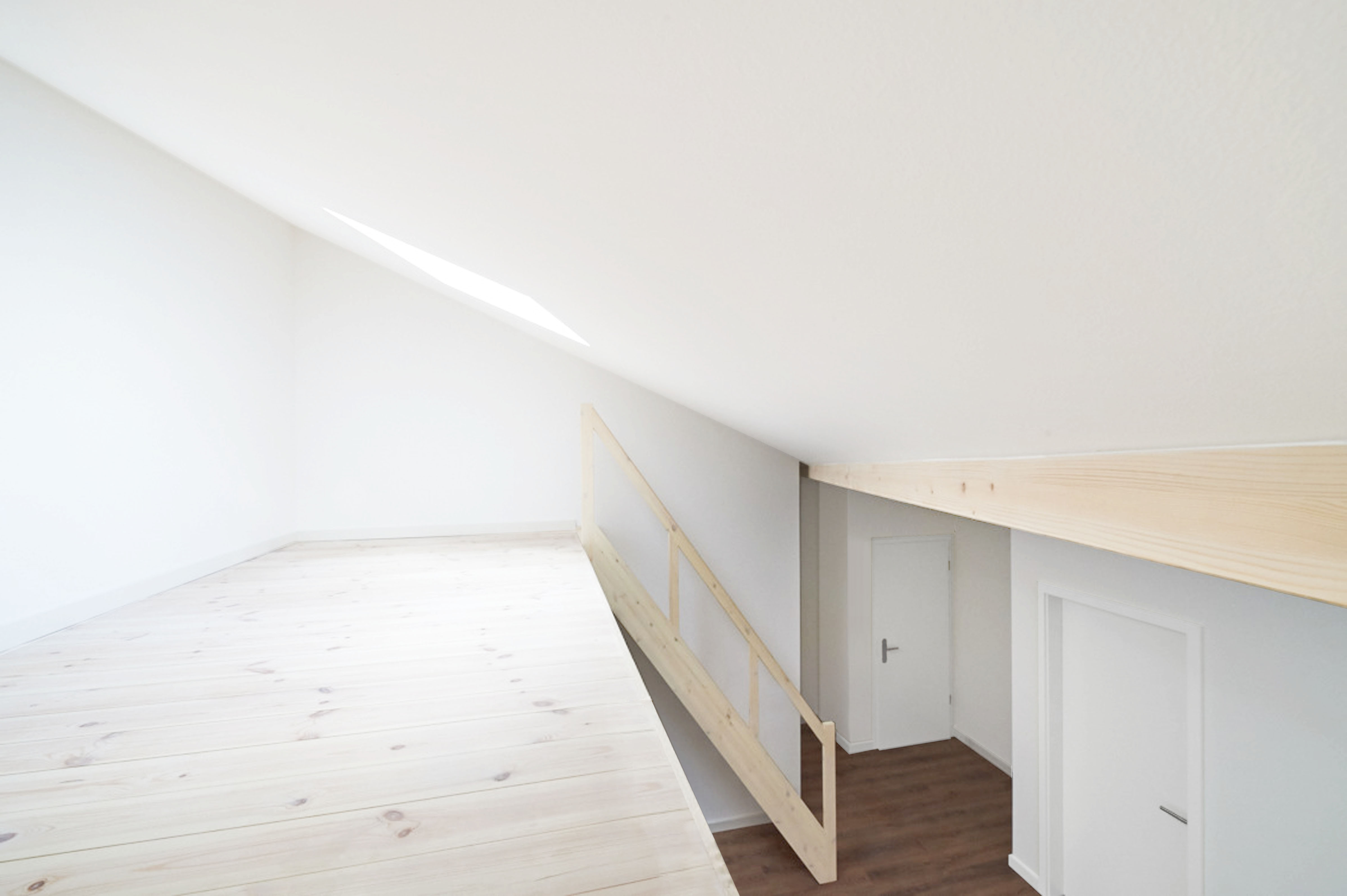 Wohnung7-Blick vom Hochbett