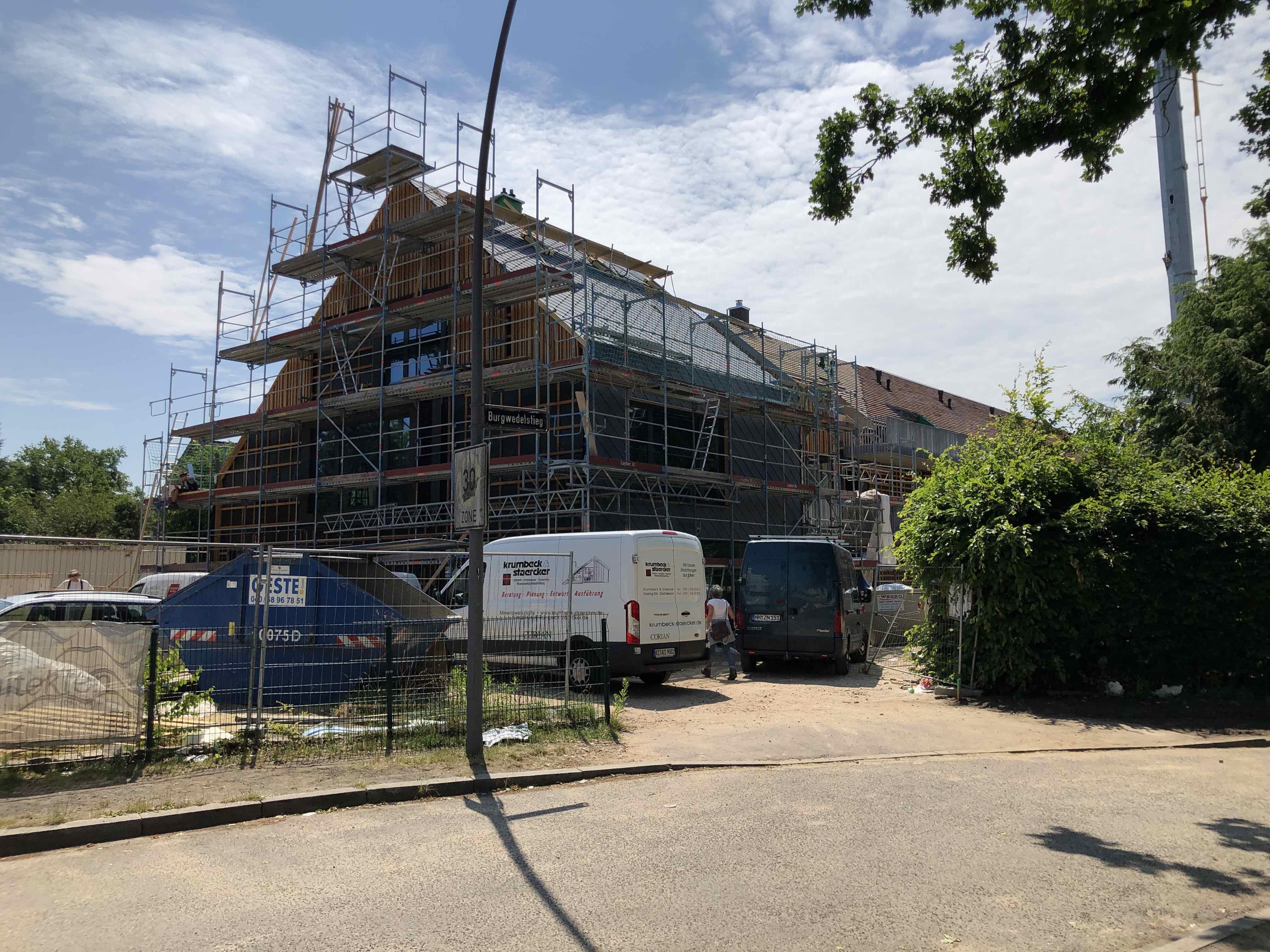 Baustelle-Endspurt